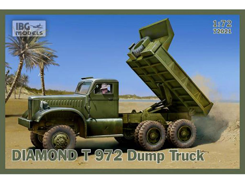 Diamond T 972 dump truck  (Vista 1)