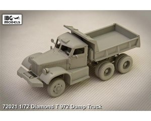 Diamond T 972 dump truck  (Vista 2)