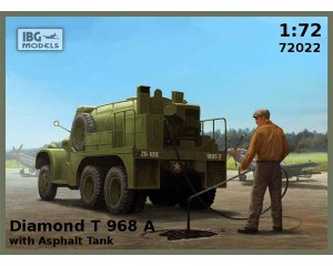 Diamond T 968A with Asphalt Tank  (Vista 1)