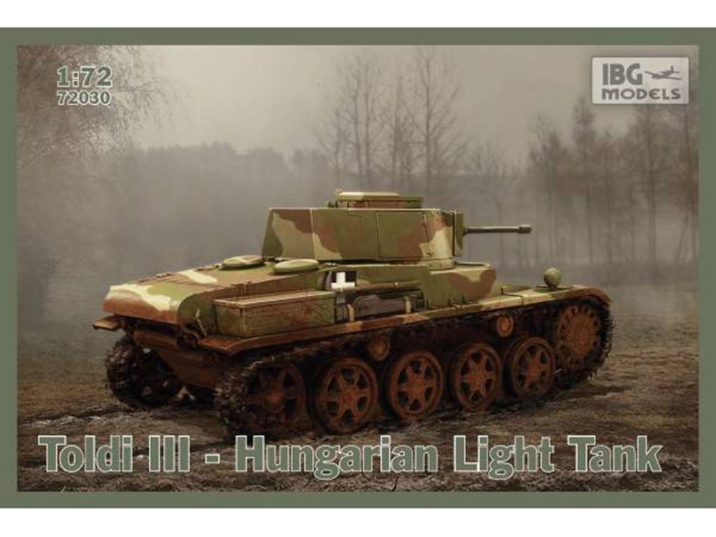 Toldi III Hungarian Light Tank  (Vista 1)