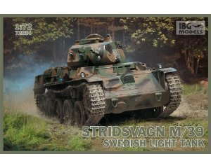 Stridsvagn m/39 Swedish light tank