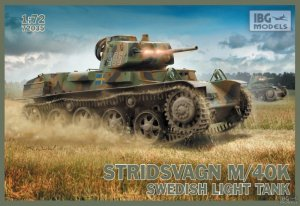 Stridsvagn M/40K Swedish Light Tank  (Vista 1)