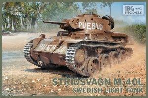 Stridsvagn m/40 L Swedish light tank  (Vista 1)