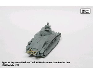 TYPE 89 Japanese Medium tank KOU   (Vista 3)