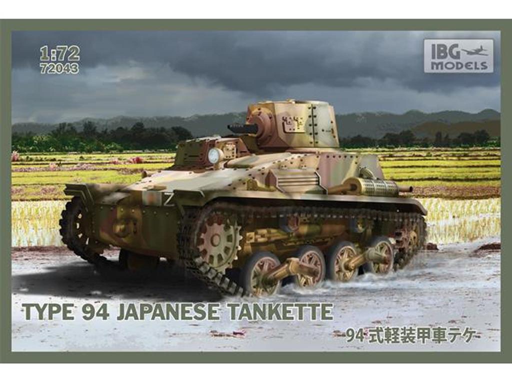 Type 94 Japanese tankette  (Vista 1)