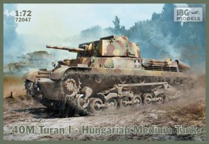 40M Turan I Hungarian Medium Tank  (Vista 1)