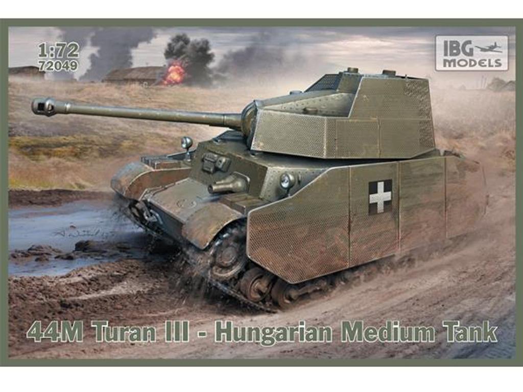 44M Turan III - Hungarian Medium Tank  (Vista 1)