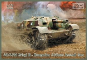 40/43M Zrinyi II Hungarian 105mm Assault  (Vista 1)