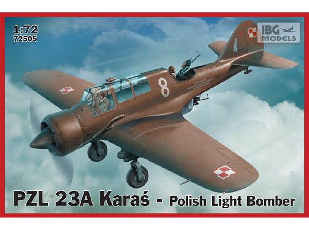 PZL 23A Karas Polish Light Bomber  (Vista 1)