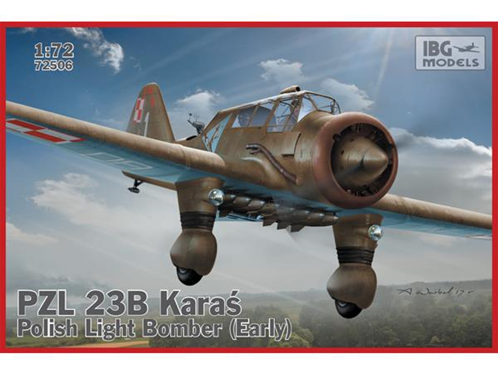 PZL 23B Karas Polish Light Bomber early  (Vista 1)