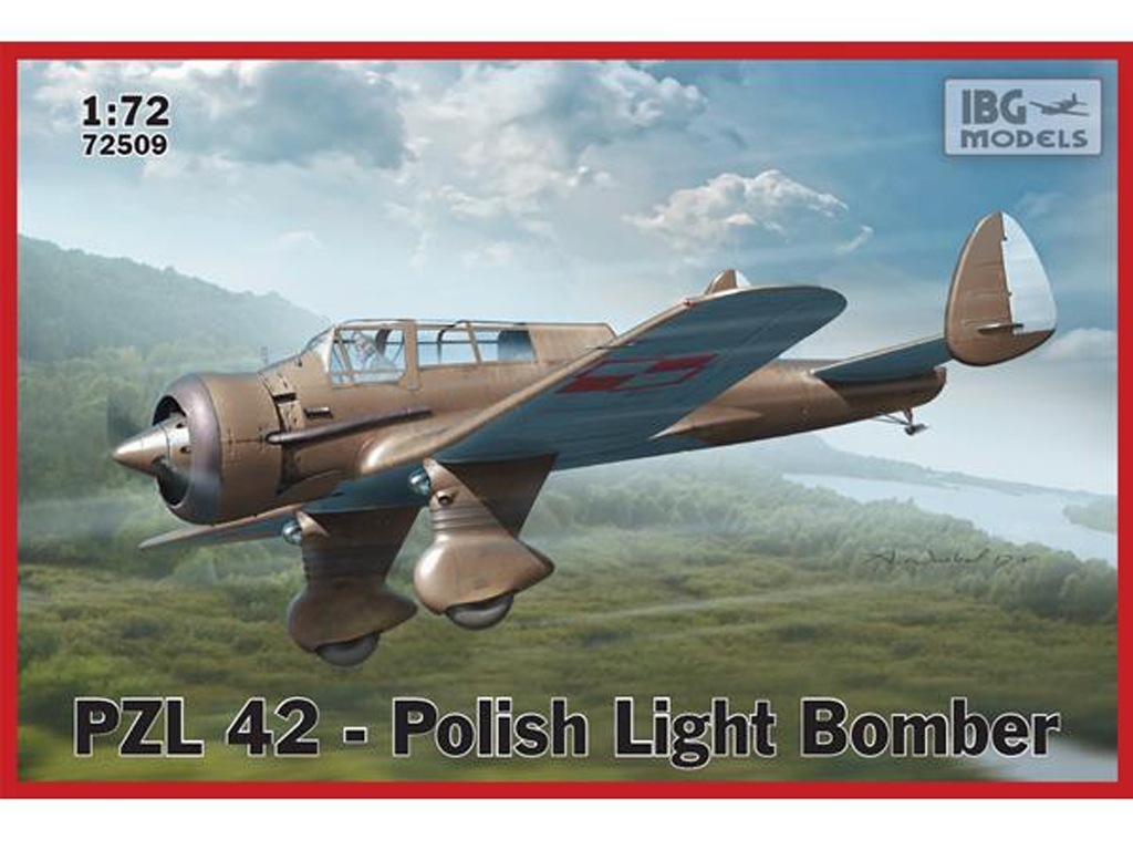 PZL 42-Polish Light Bomber  (Vista 1)