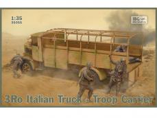 3Ro Italian Truck Troop Carrier - Ref.: IBGM-35055