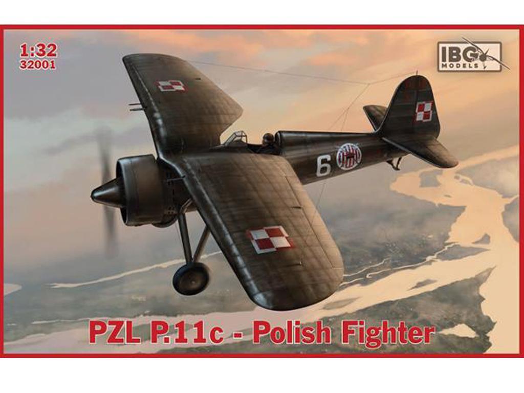 PZL P.11c Polish Fighter (Vista 1)