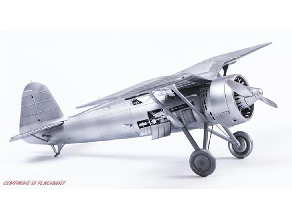 PZL P.11c Polish Fighter (Vista 3)