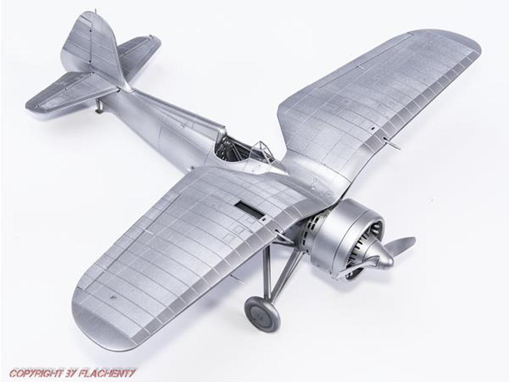 PZL P.11c Polish Fighter (Vista 4)