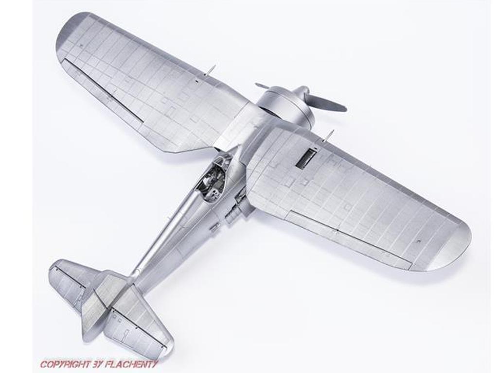 PZL P.11c Polish Fighter (Vista 5)