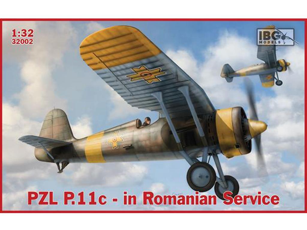 P.11c Fighter in Romanian Service (Vista 1)
