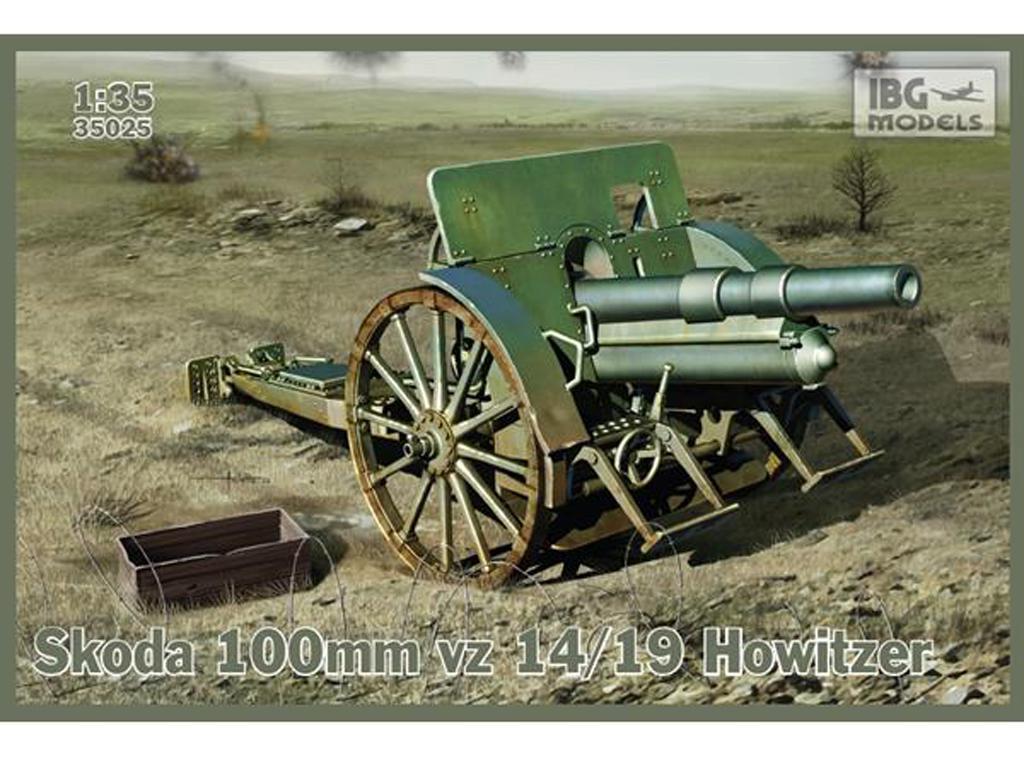 Skoda 100mm vz 14/19 Howitzer (Vista 1)
