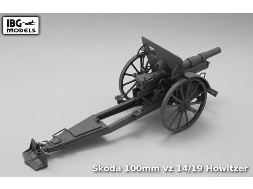 Skoda 100mm vz 14/19 Howitzer (Vista 2)