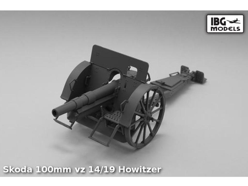 Skoda 100mm vz 14/19 Howitzer (Vista 4)