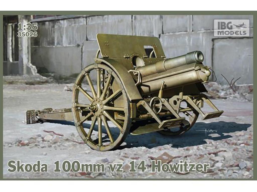 Skoda 100mm vz 14 Howitzer (Vista 1)
