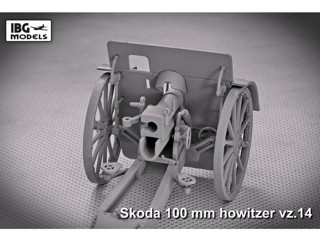 Skoda 100mm vz 14 Howitzer (Vista 2)