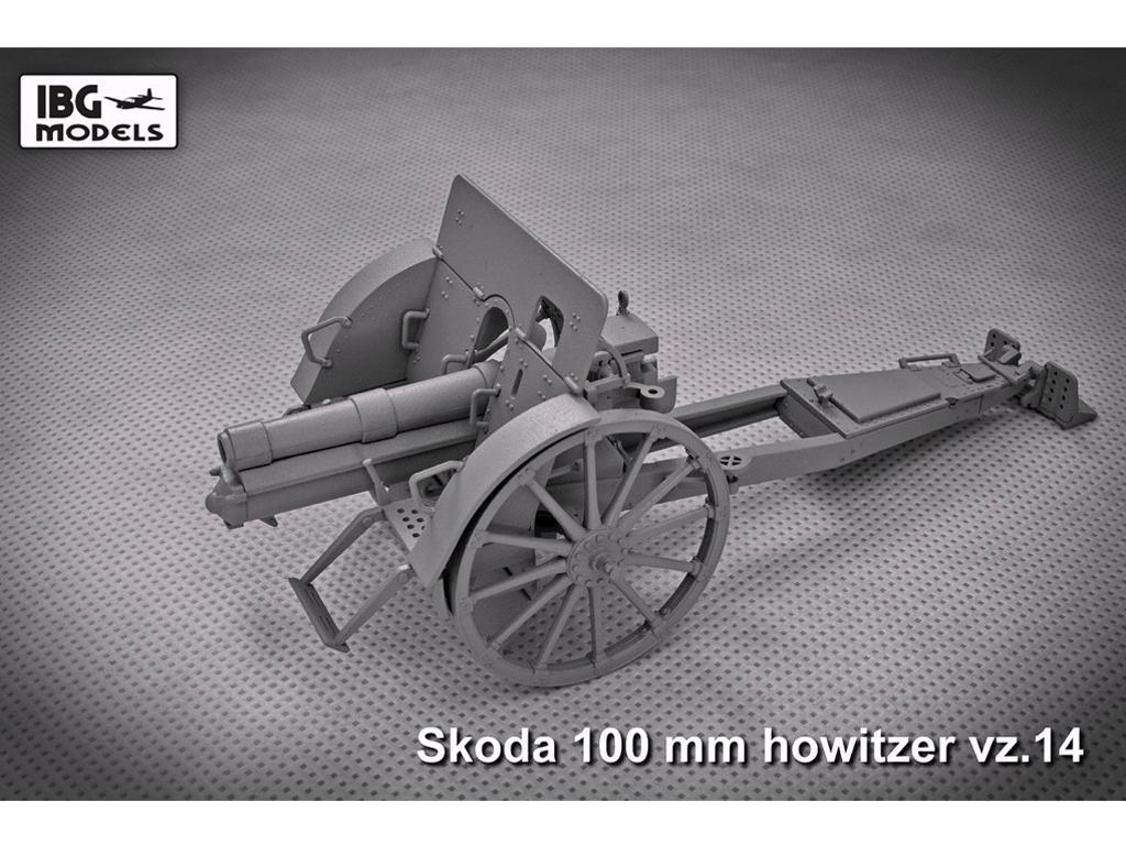 Skoda 100mm vz 14 Howitzer (Vista 3)