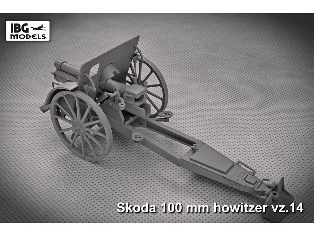 Skoda 100mm vz 14 Howitzer (Vista 4)