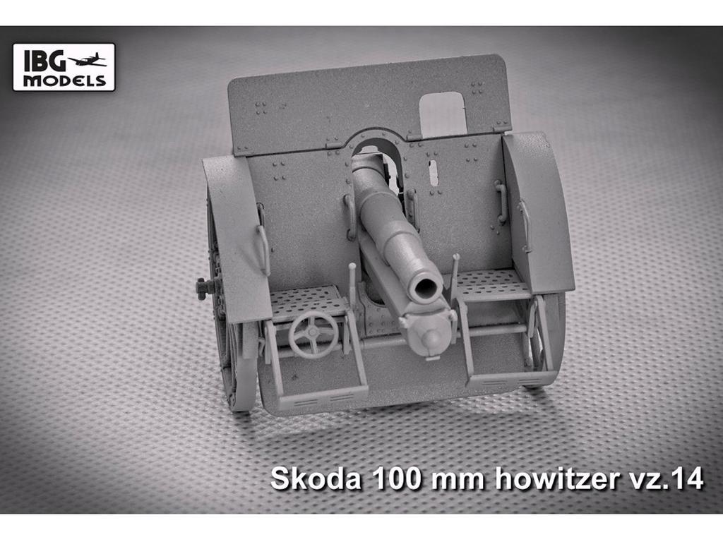 Skoda 100mm vz 14 Howitzer (Vista 5)