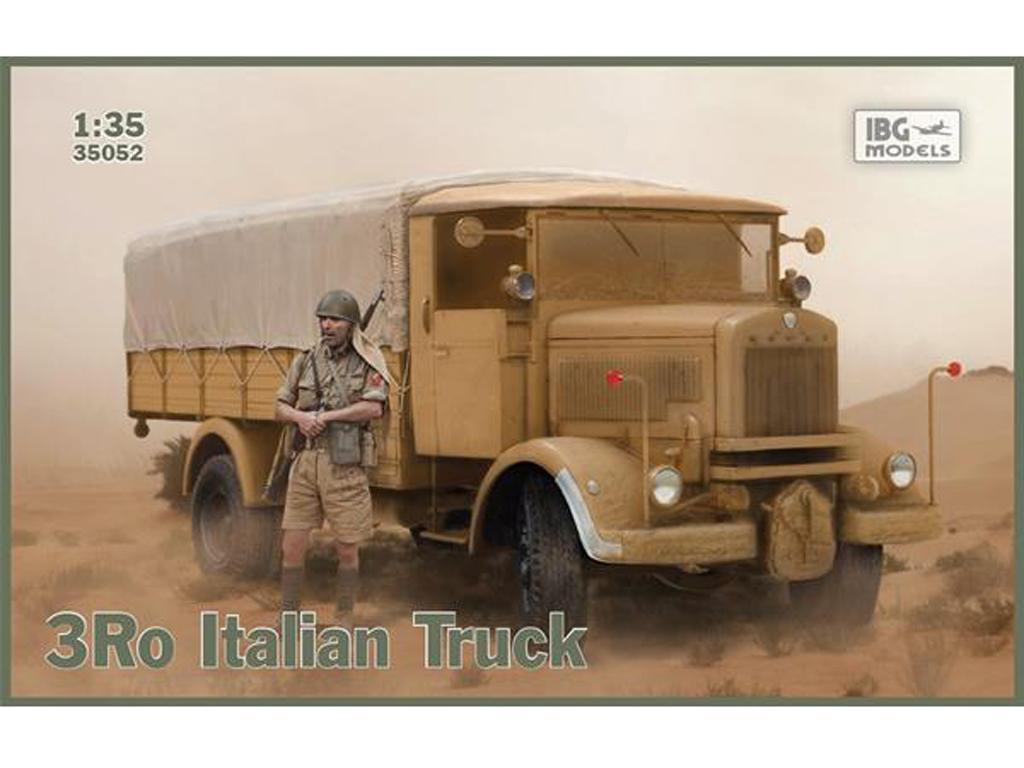 3Ro Italian Truck Cargo version (Vista 1)