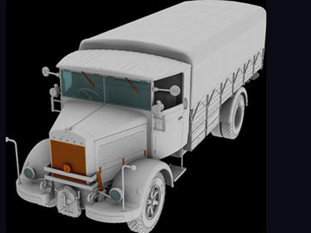 3Ro Italian Truck Cargo version (Vista 3)