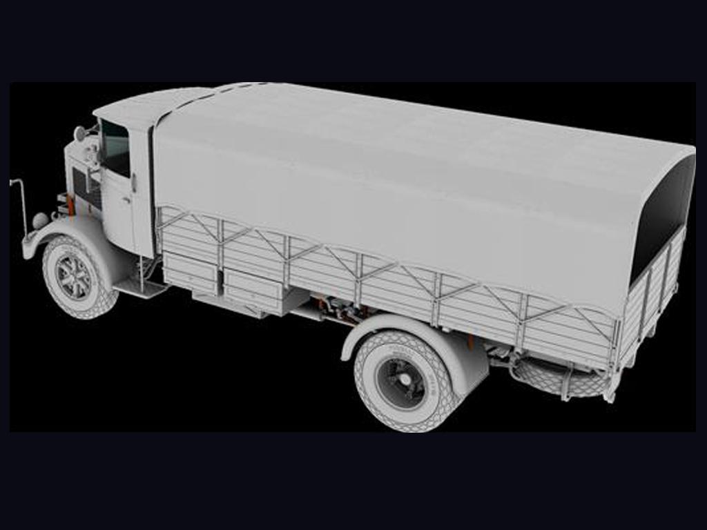3Ro Italian Truck Cargo version (Vista 4)