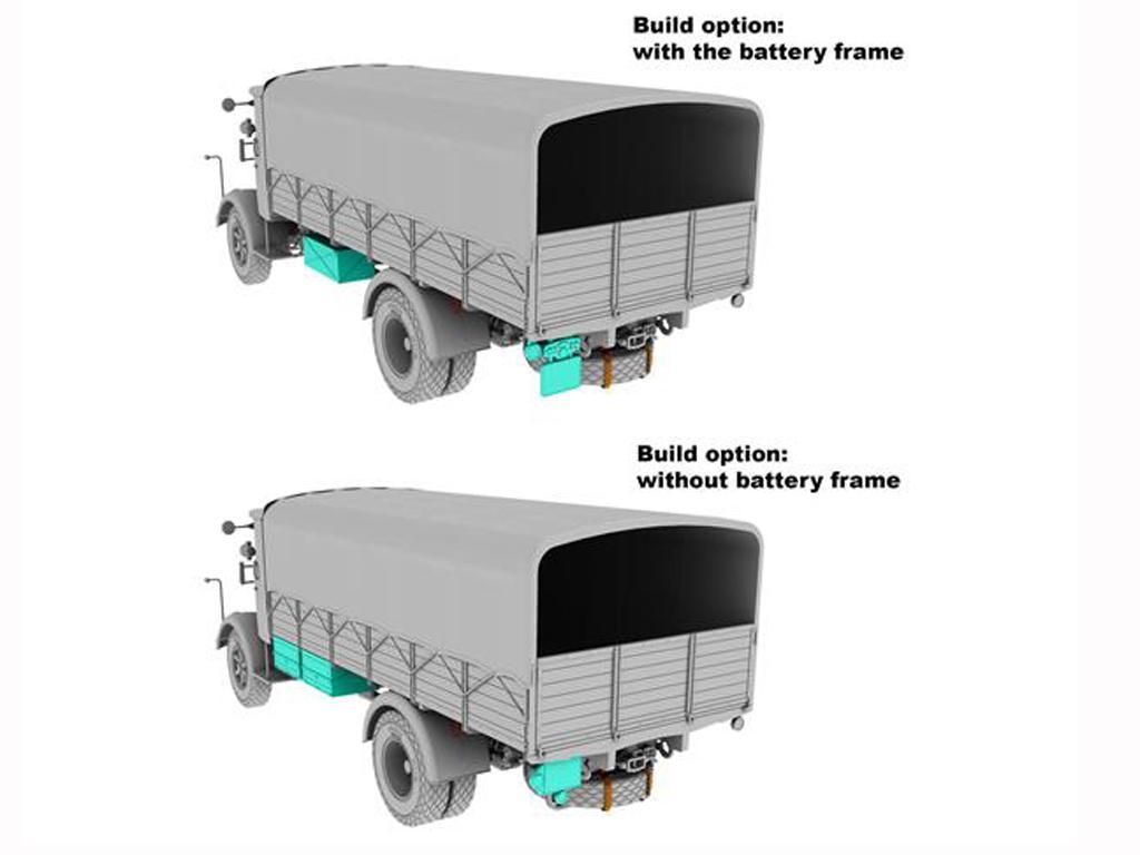 3Ro Italian Truck Cargo version (Vista 6)