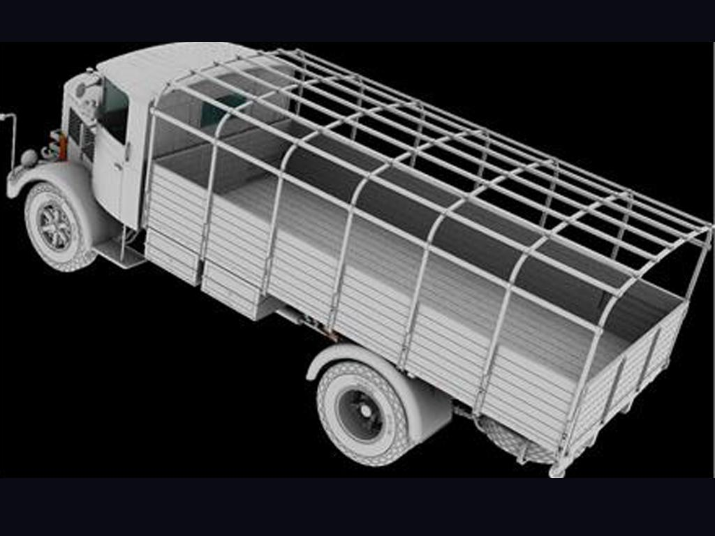 3Ro Italian Truck Cargo version (Vista 7)