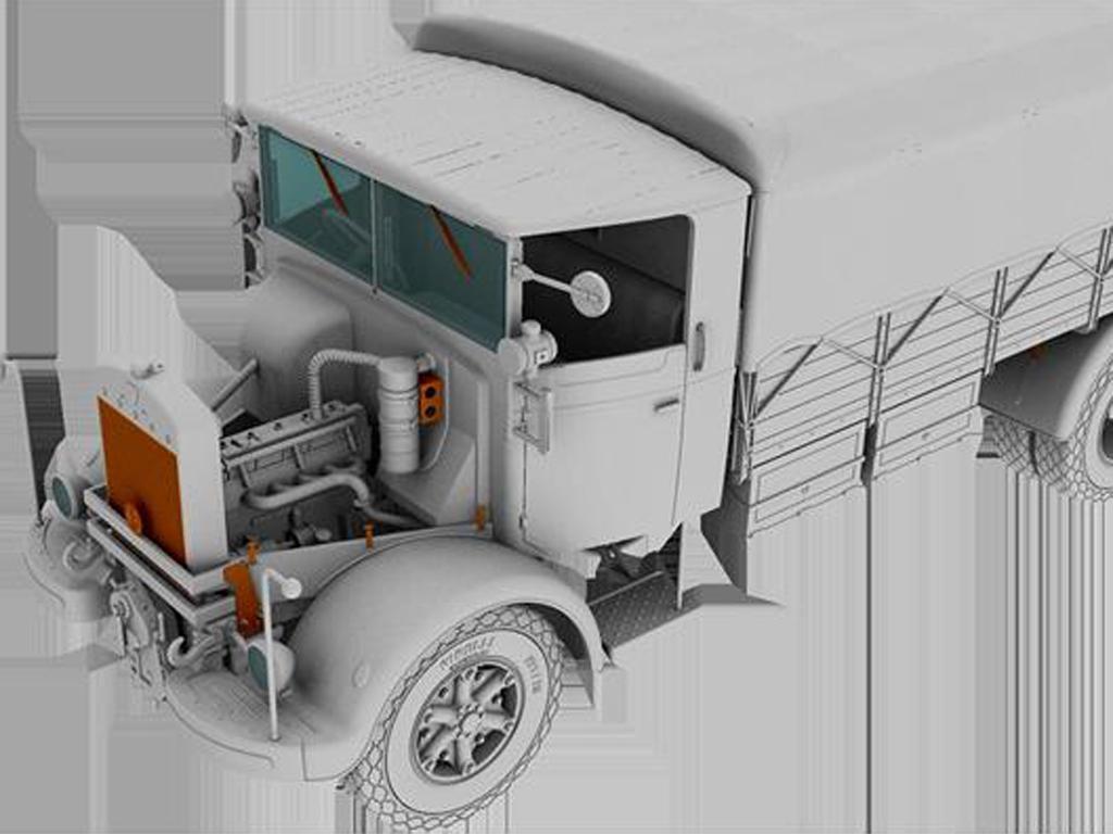 3Ro Italian Truck Cargo version (Vista 8)