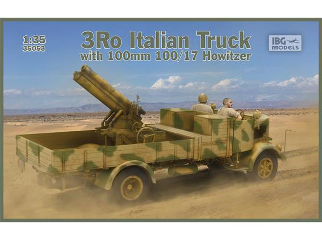 3Ro Italian Truck with 100/17 100mm Howitzer (Vista 1)