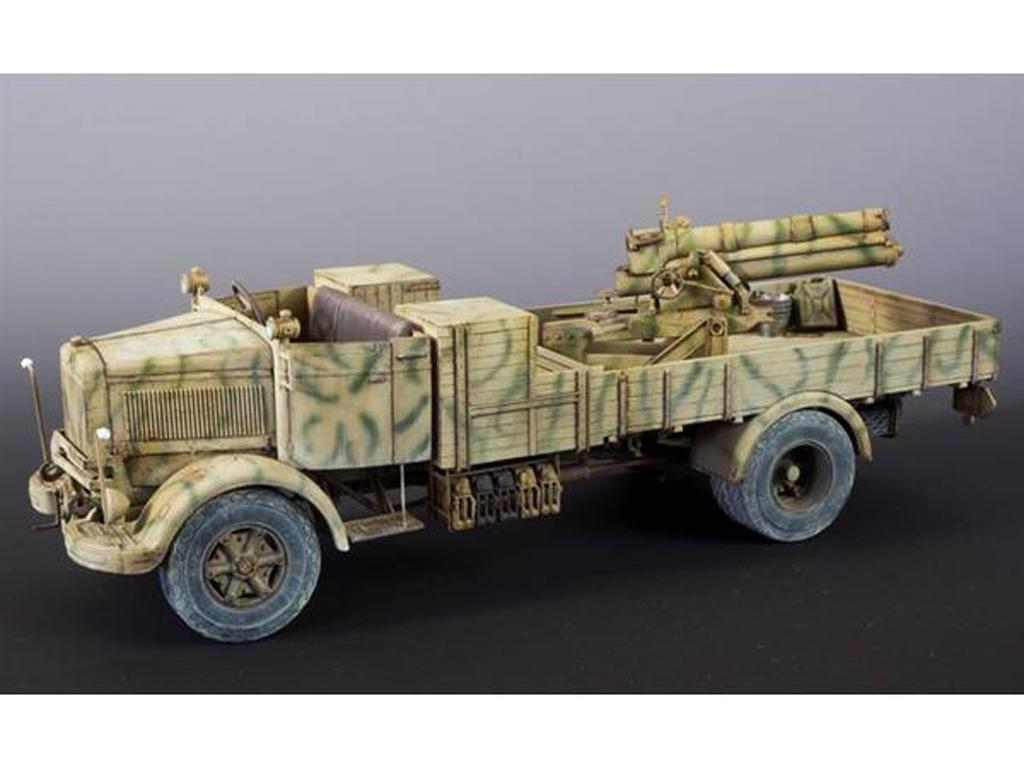 3Ro Italian Truck with 100/17 100mm Howitzer (Vista 2)