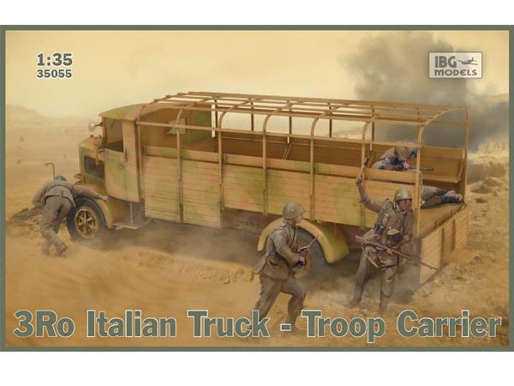 3Ro Italian Truck Troop Carrier (Vista 1)