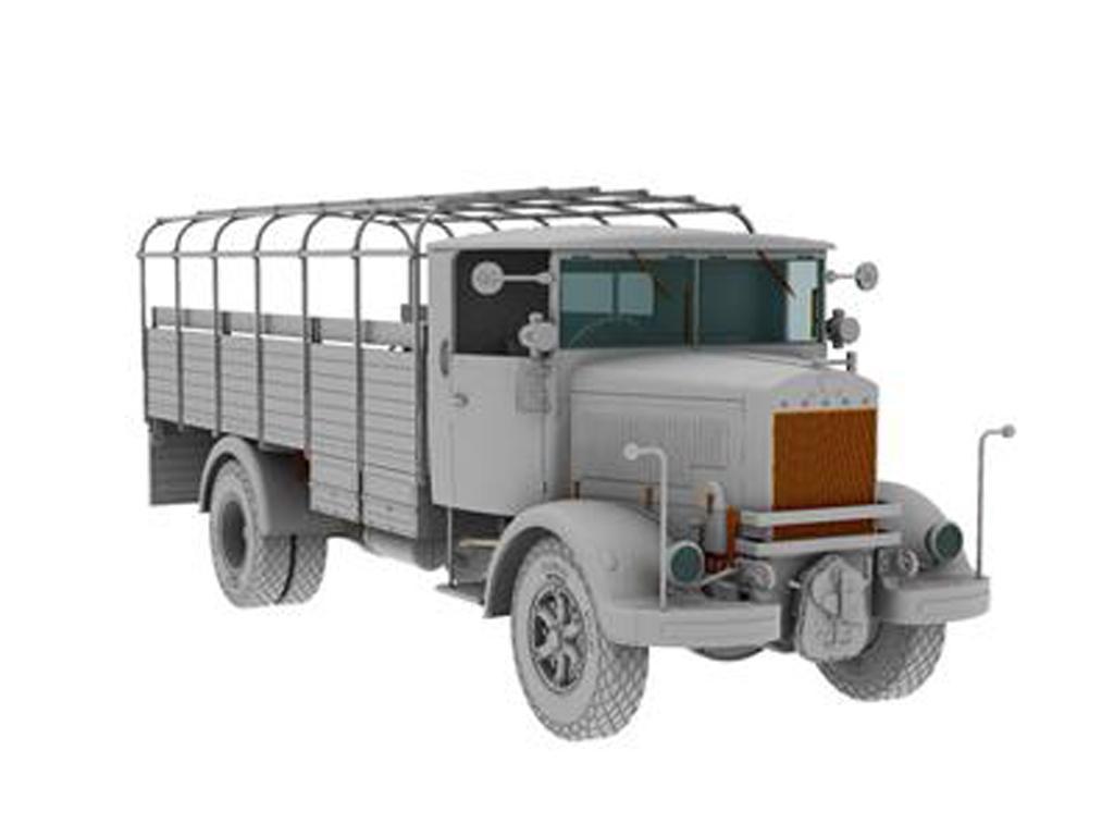 3Ro Italian Truck Troop Carrier (Vista 2)