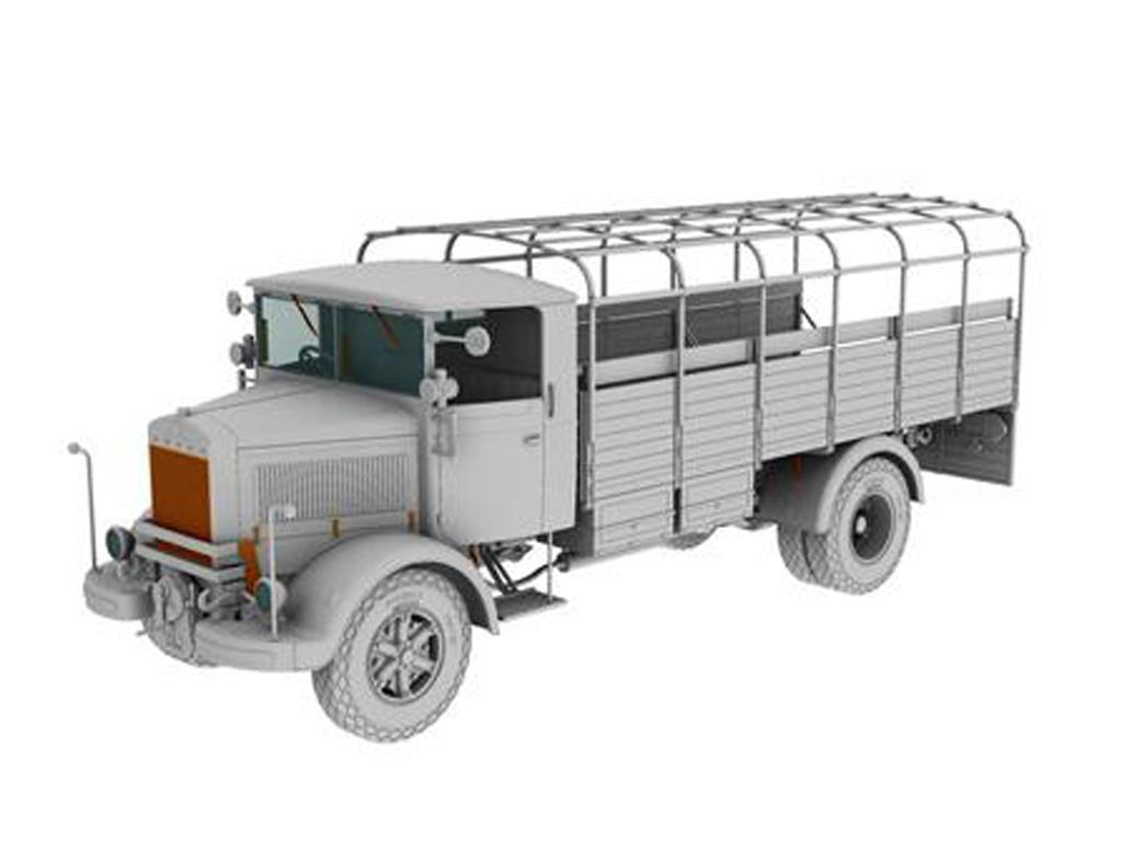 IBG 1//35 3Ro Italian Truck Troop Carrier