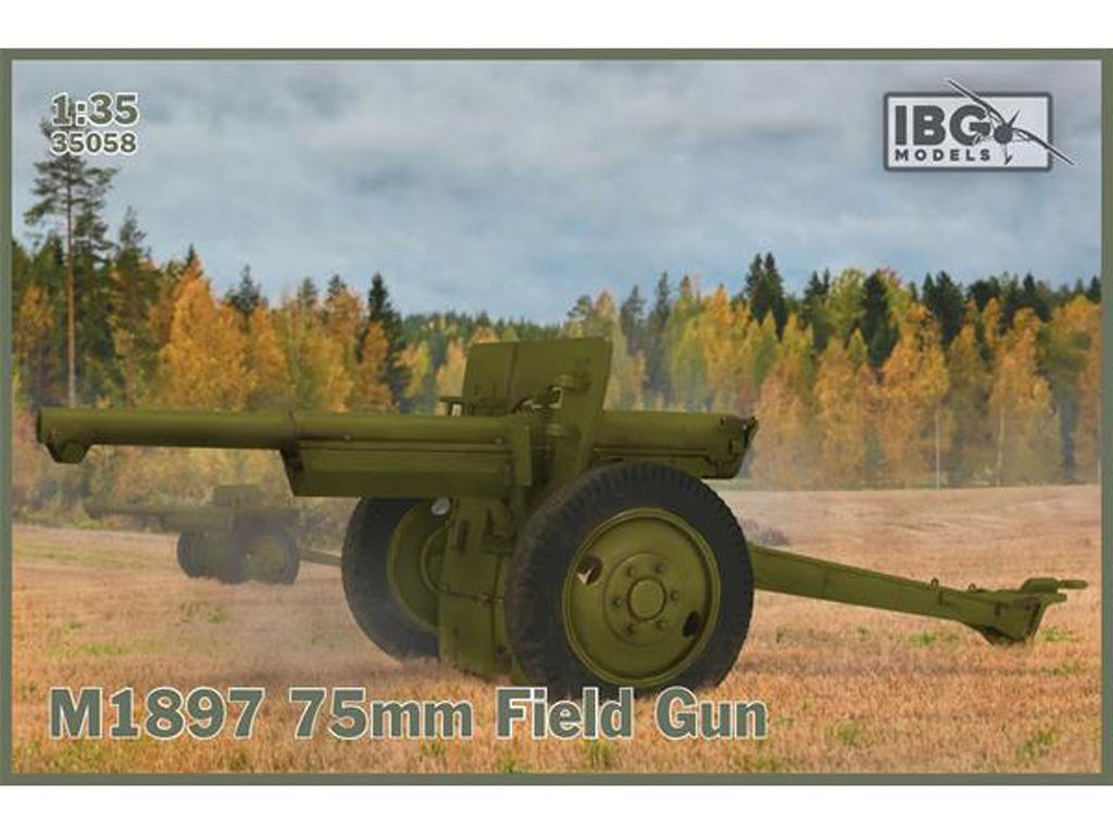 M1897 75mm Field Gun (Vista 1)