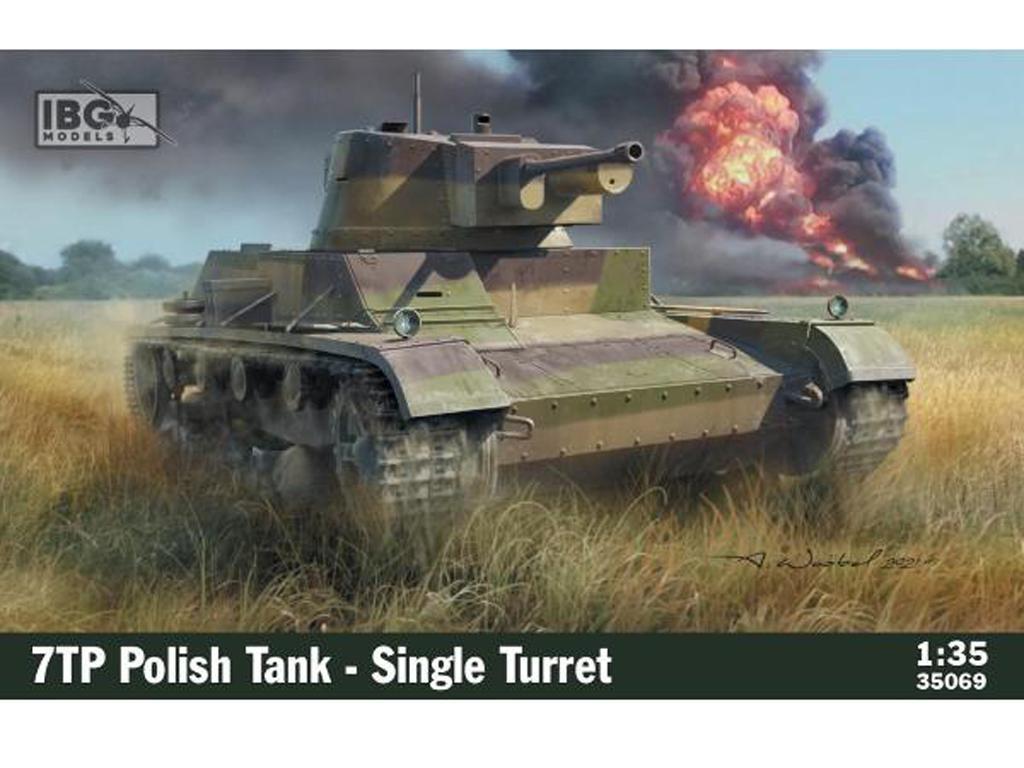 7TP Polish Tank - Single Turret (Vista 1)