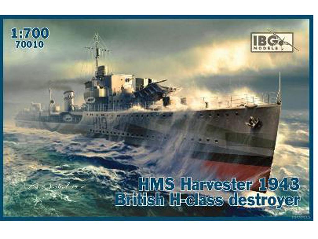 HMS Harvester - British H-Class Destroyer - 1943 (Vista 1)