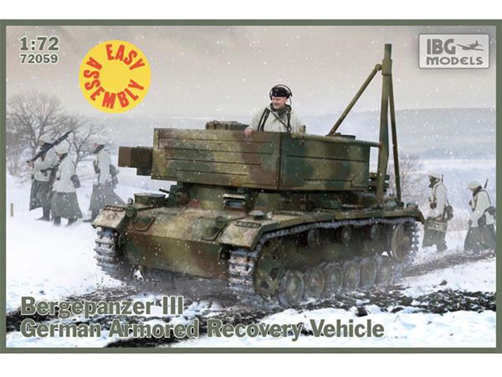 Bergepanzer III (Vista 1)
