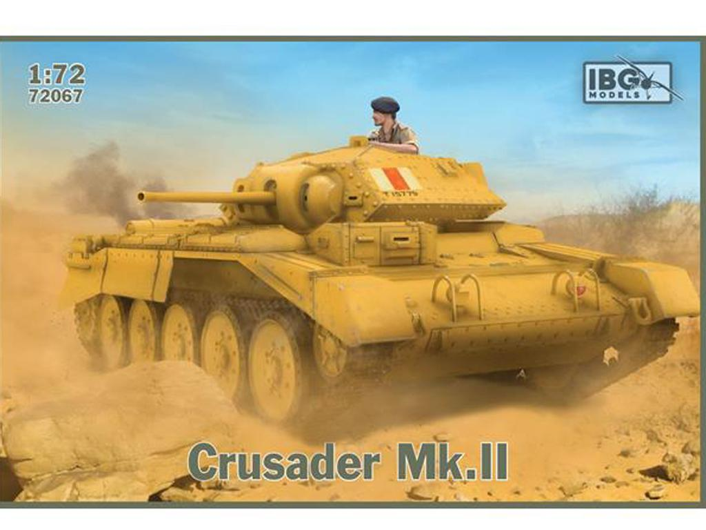Crusader Mk. II - British Cruiser Tank (Vista 1)
