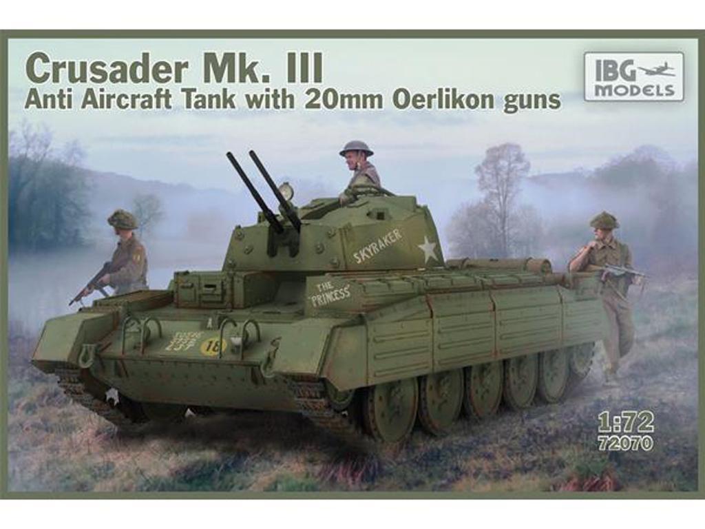 Crusader Anti Air Tank Mk. III with Oerlikon Guns (Vista 1)