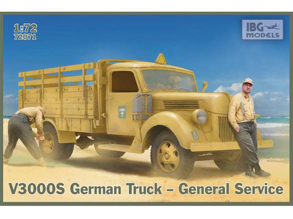 V3000S German Truck - General Service (Vista 1)