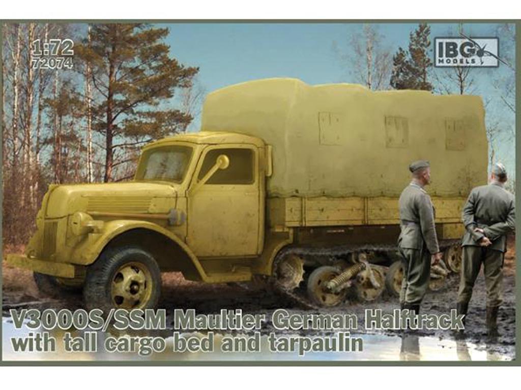 V3000S/SSM Maultier German Halftrack (Vista 1)