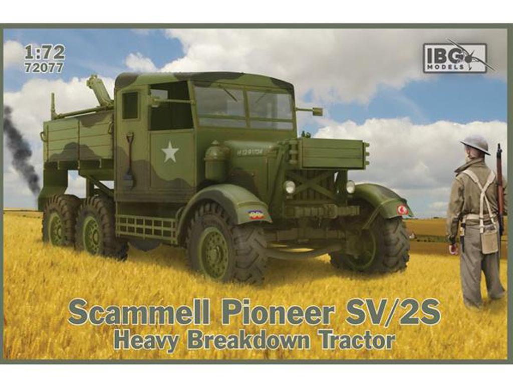 Scammell Pioneer SV/2S Heavy Breakdown Tractor (Vista 1)