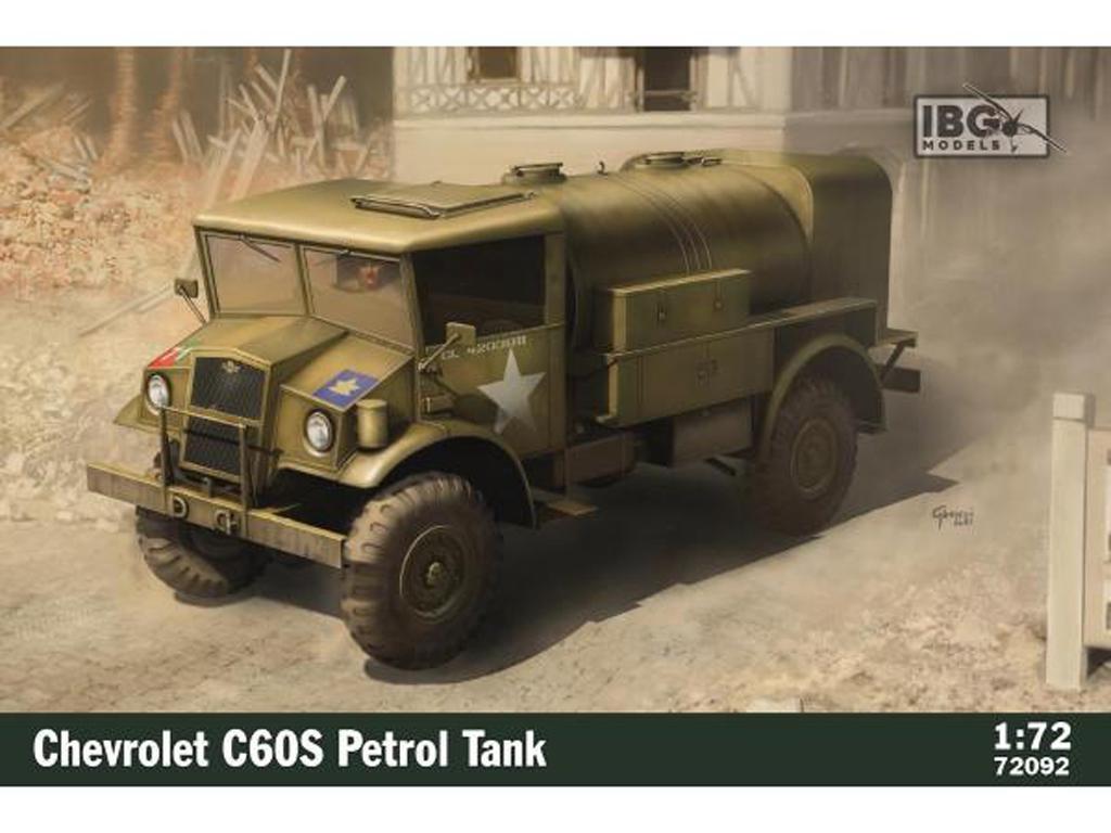 Chevrolet C60S Petrol Tank (Vista 1)